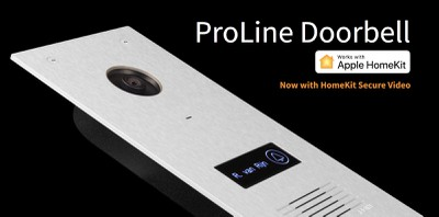 robin proline doorbell homekit secure video