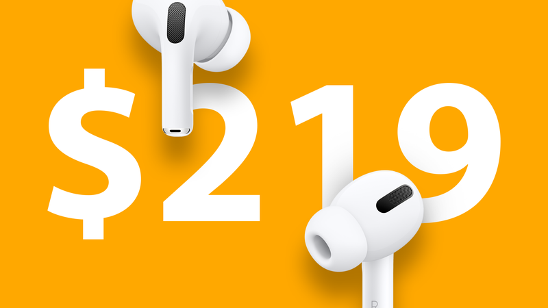How to buy AirPods Pro at $219 with $30 discount?