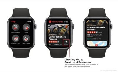 yelp on apple watch series 5