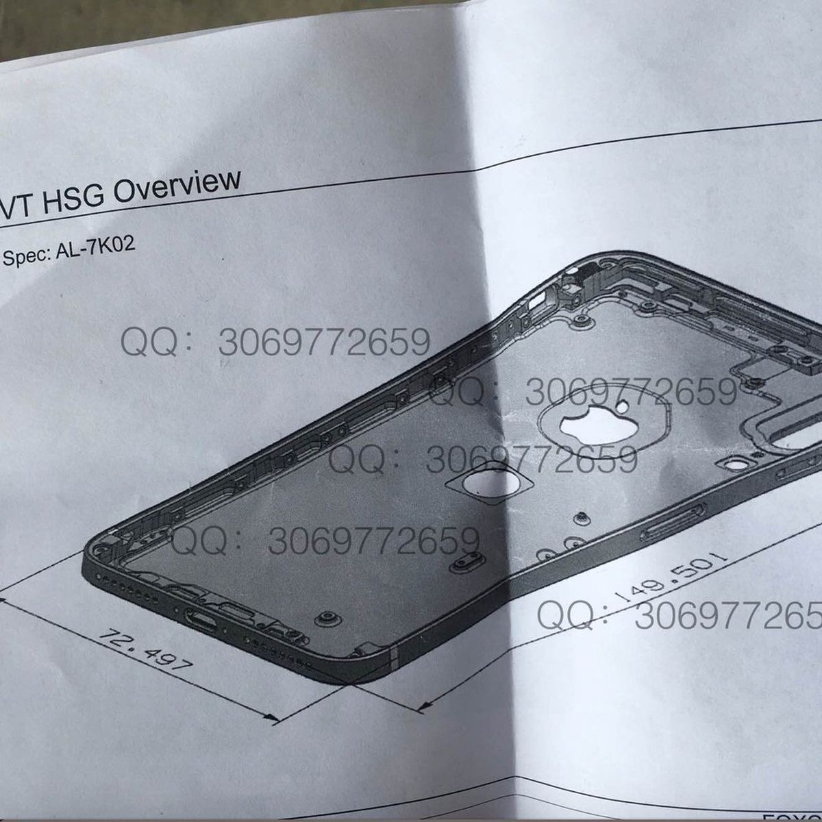 Another Iphone 8 Design Schematic Shows Vertical Dual Camera And Touch Id On Back Of Aluminum Casing Macrumors
