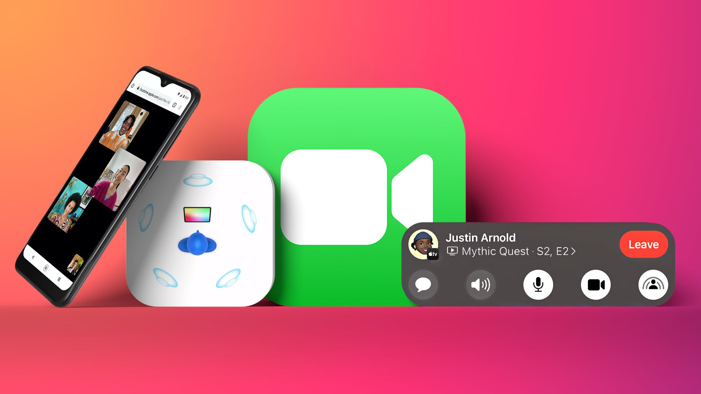photo of Everything That's New in the iOS 15 FaceTime App: SharePlay, Android Support, Spatial Audio and More image