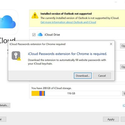 icloud password extension windows