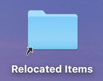 catalina relocated items