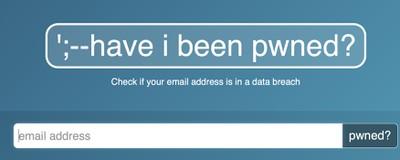 sitio web pwned