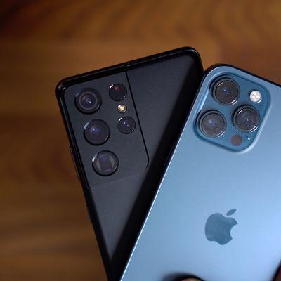 galaxy s21 iphone 12 pro max