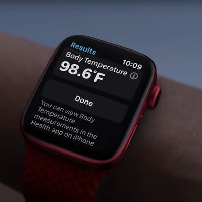 Apple Watch Body Temperature Finished