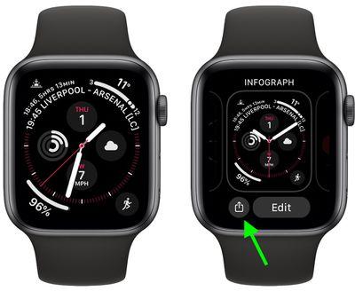 1share apple watch face