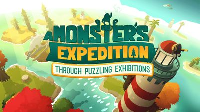 A Monsters Expedition Key Art logo