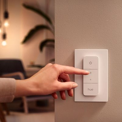 philips hue dimmer switch 2021 on wall