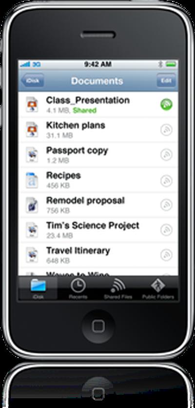 131825 idisk iphone app