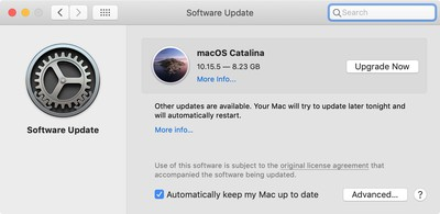 Os software for mac