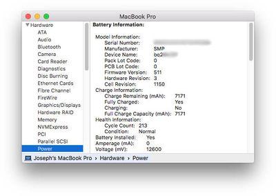 MacBook-Pro-battery-information