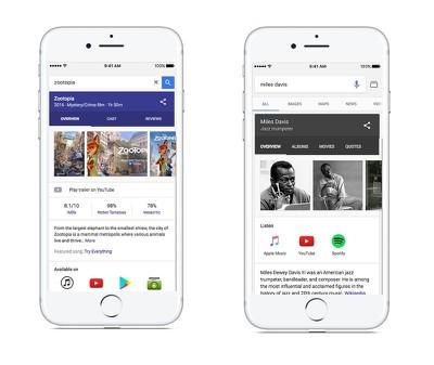 Google iOS search