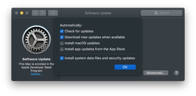 macos mojave system updates 1
