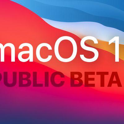 macOS Public Beta 1 Feature wp