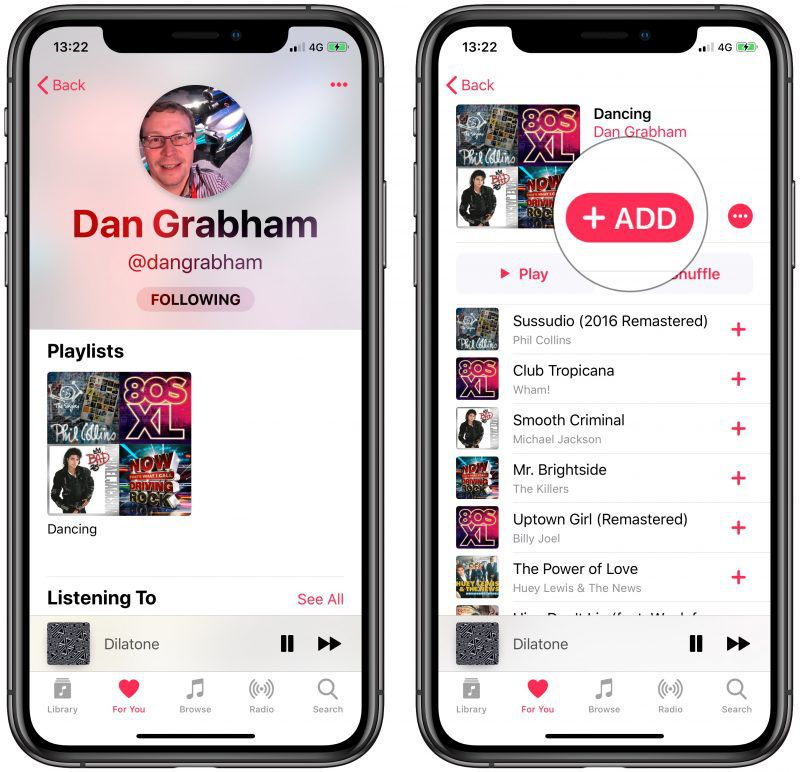 Can you find friends on apple music