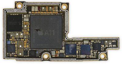 a11 bionic iphone x teardown