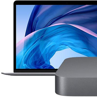 mac mini macbook air environment