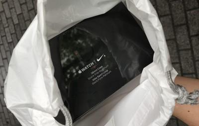 Nike series 3 apple watch LTE box