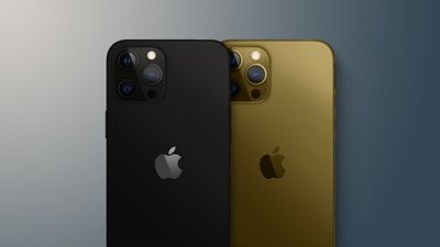 iphone 13 matte black and bronze