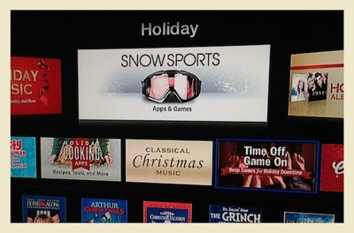apple tv holiday apps