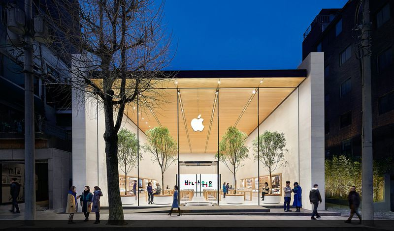 Apple plans to open its physical store in South Korea tomorrow