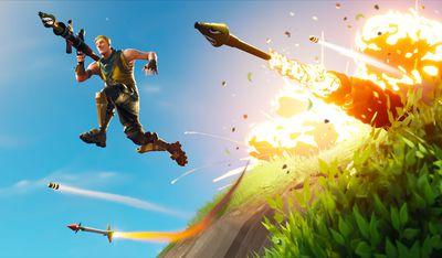 fortnite mobile 100 million hero