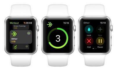 name a workout 1 apple watch