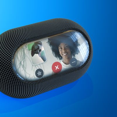 HomePod FaceTime 3D Blue