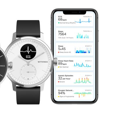 Withings ScanWatch with app
