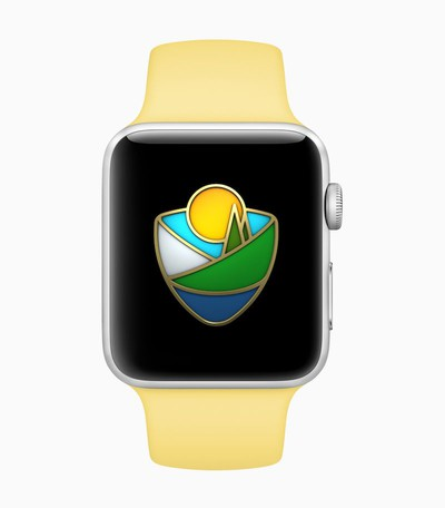 apple pay national parks watch sticker