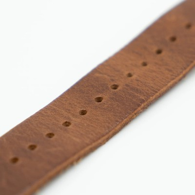 southern straps brown leather band 6