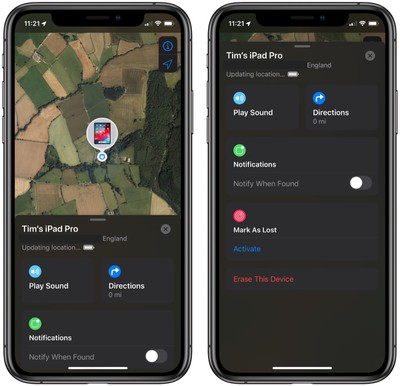 how to use find my to locate a lost iphone