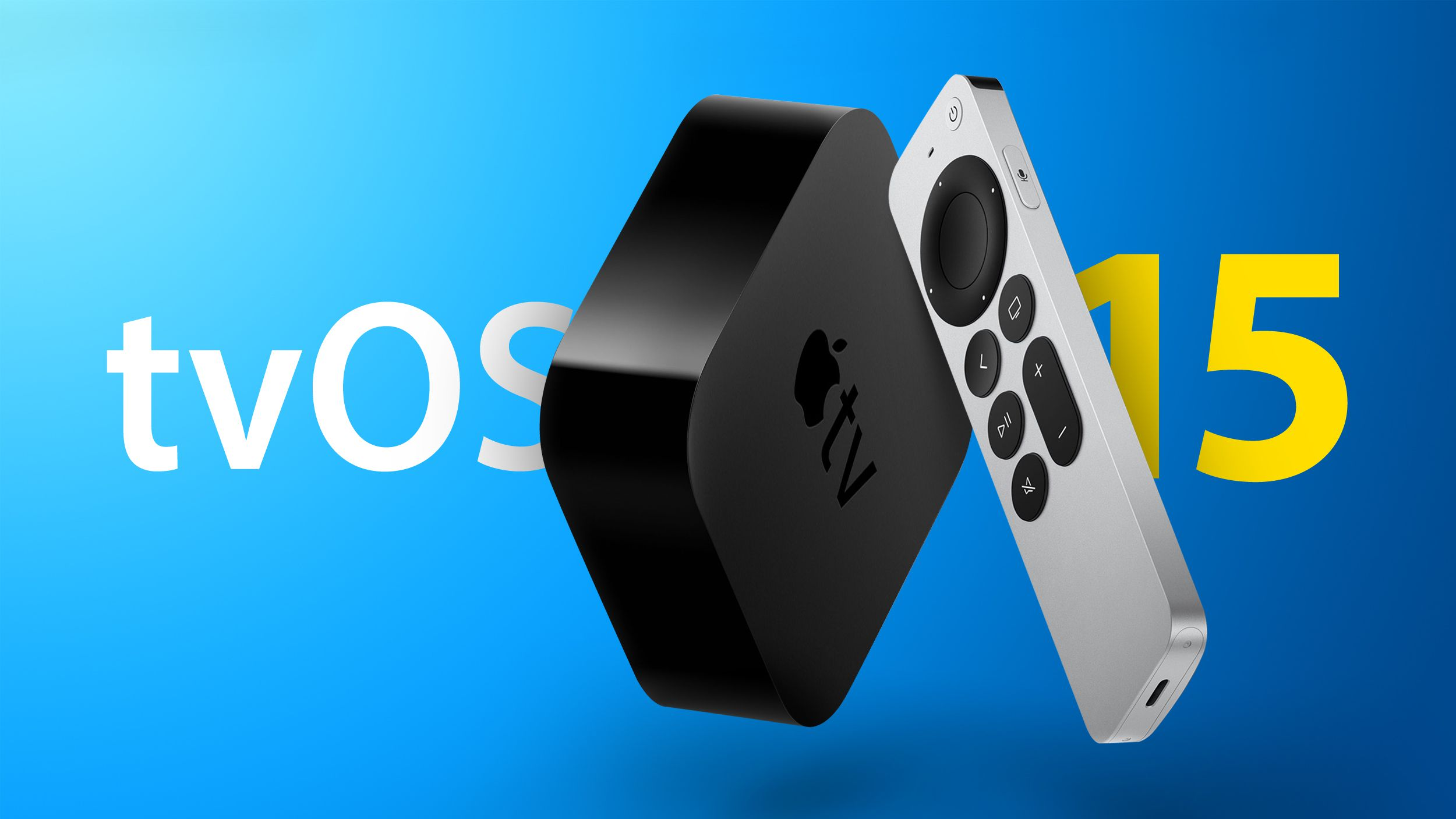 Apple Seeds Fourth Beta of tvOS 15 to Developers