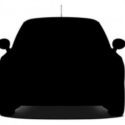 Apple car silhouette