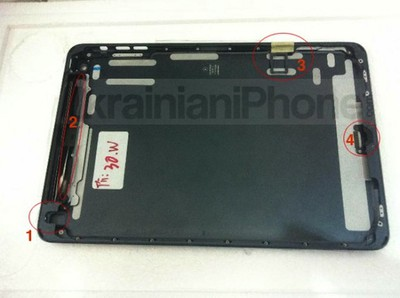 ipad mini black shell inside