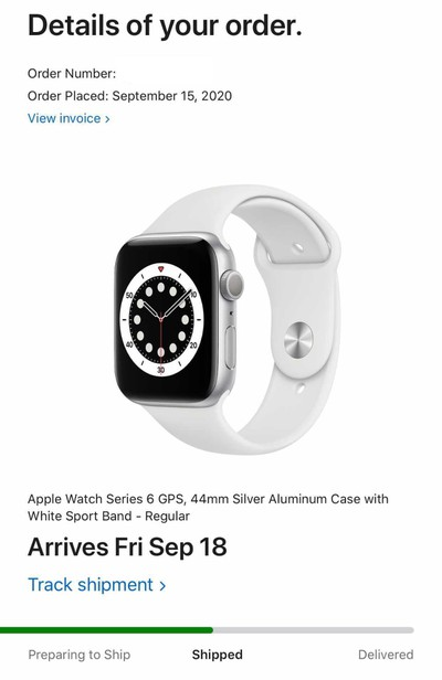 Apple Watch Series 6 and SE Orders Start Shipping Ahead of Deliveries Tomorrow
