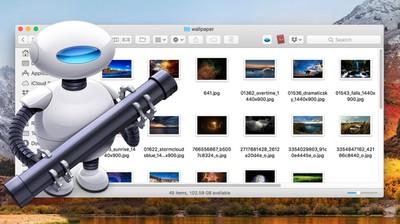 resize image service with automator