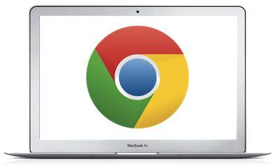macbook air google chrome