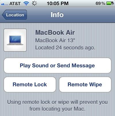 find my mac found