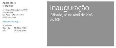 Apple Store Sao Paulo Opening