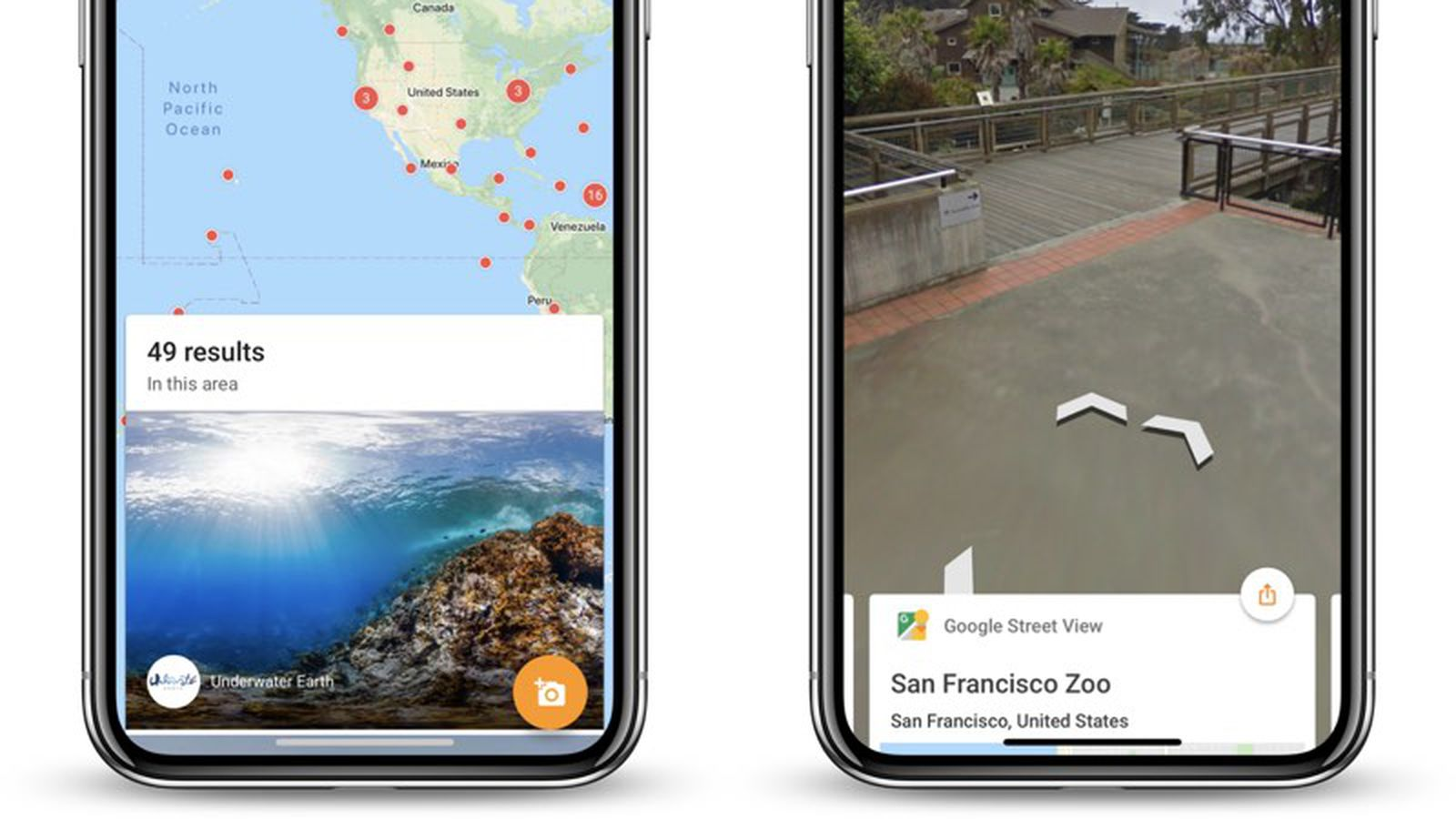 Google S Street View App For Ios Gets Iphone X Update Macrumors