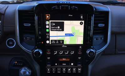 ram 1500 carplay maps