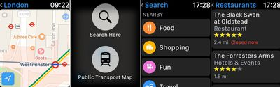 maps app force touch