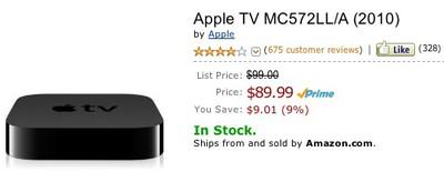 apple tv amazon 89 99