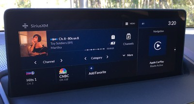 acura rdx sirius carplay maps