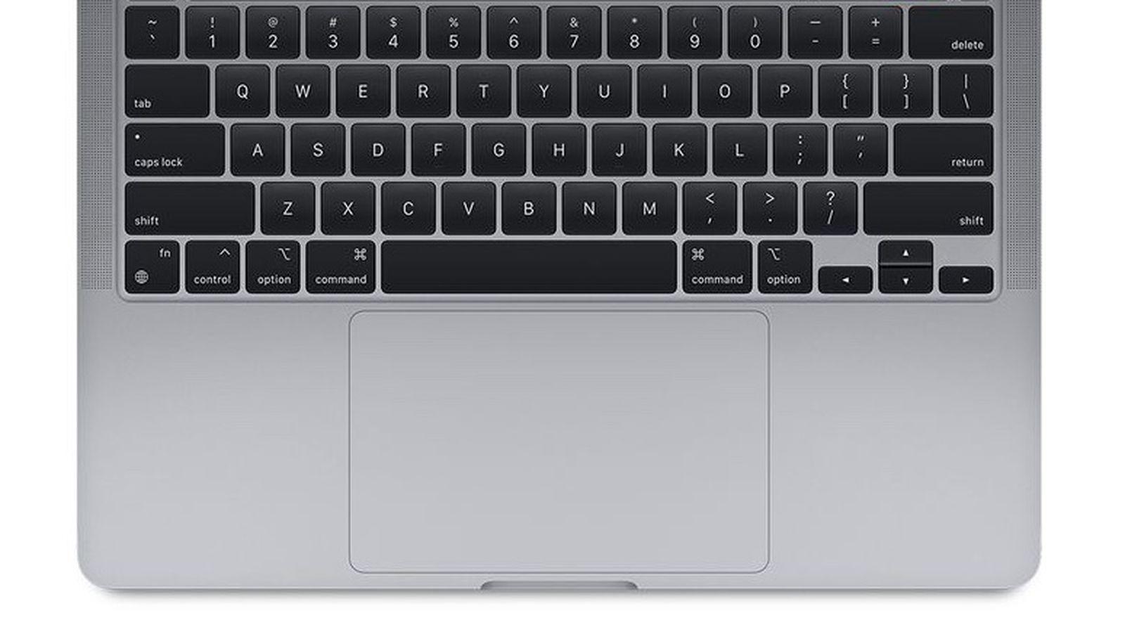 macbook trackpad.