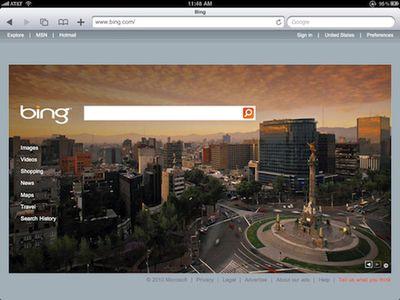 115050 bing com ipad