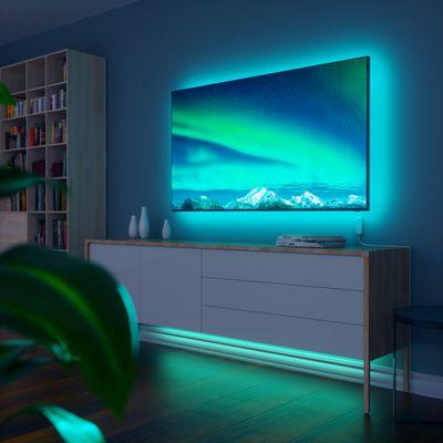 nanoleaf essentials lightstrip blue tv