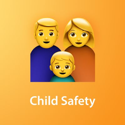 Child Safety Feature yellow